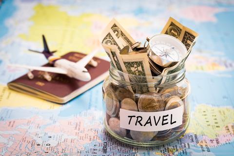 Travel money pot